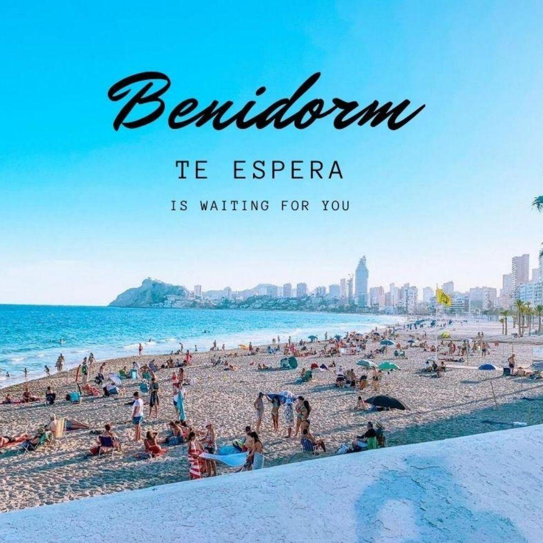 Playa de Poniente Benidorm